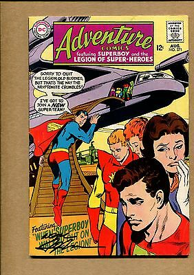 Adventure Comics #371 - The Colossal Failure! / Signed by Adams - 1968 (7.0) WH