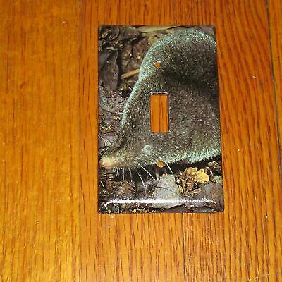 Short-Tailed Shrew Wild Animal Light Switch Cover Plate