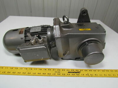 Nord SK92672AZDSH Right Angle Shaft Mount 1Hp Gearbox Speed Reduser Bevel 48.3:1
