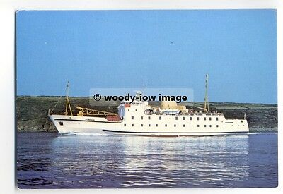 f12523 - Scilly Isles Ferry - Scillonian III , built 1977 - postcard