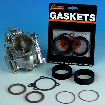 James Gasket - JGI-27002-66-SS - S&S Carburetor to Manifold Seal Gasket Kit~