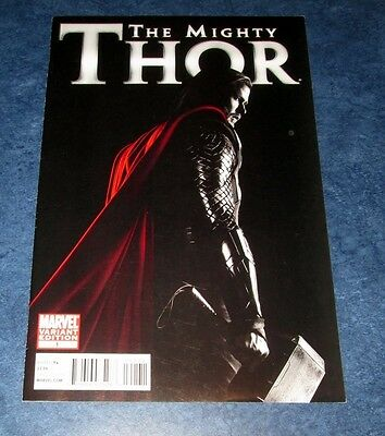 the MIGHTY THOR #1 CHRIS HEMSWORTH movie photo variant 1st print MARVEL COMIC