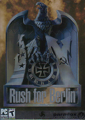 Rush for Berlin - Tactical WW2 World War 2 Strategy Vintage Classic PC Game NEW