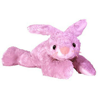 Baby TY - HUGGYBUNNY the Bunny (Lilac Version) (13 inch) - MWMT's Stuffed Animal
