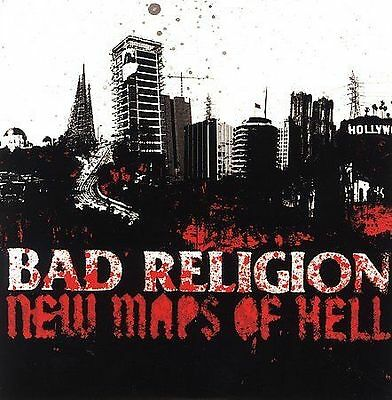 Bad Religion- New Maps of Hell (DELUXE EDITION) CD + DVD NEW/SEALED