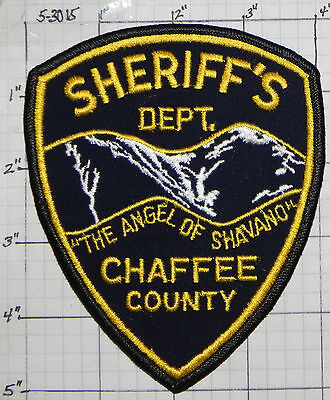 Colorado, Chaffee County Sheriff's Dept Patch