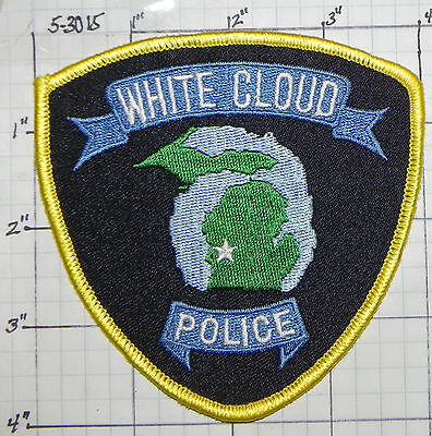 Michigan, White Cloud Police Dept Patch