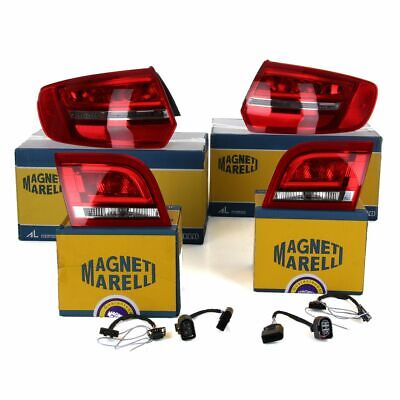 ORIGINAL Heckleuchten Rückleuchten LED Audi A3 S3 RS3 (8P) SPORTBACK + Adapter