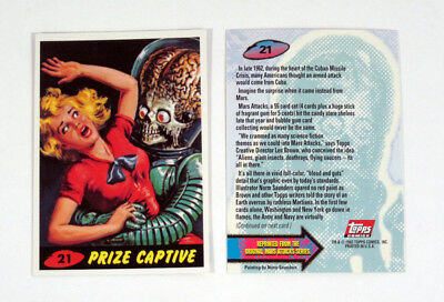 1994 Topps Mars Attacks Archives Promo Card (#21) Nm/Mt