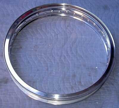 WM3 2.15 X19-40 hole Akront/Italian style flanged alloy motorcycle rim UNDRILLED