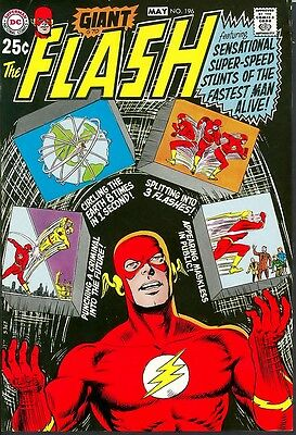 Flash 196 APPROVAL COVER PROOF ART 80-Page Giant Reverse Flash`70 Adler Pedigree