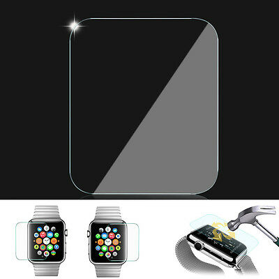 Steel Glass Film 0.2mm Tempered Glass Screen Protector for Apple Watch 38mm 42mm