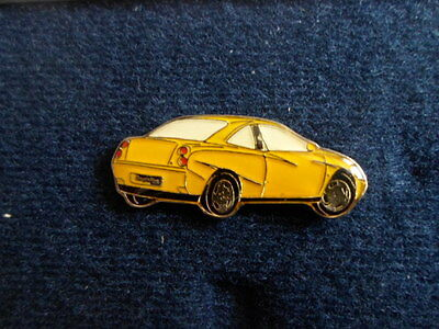 FIAT pin signet  Abzeichen sign logo Coupe Heck gelb