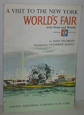 """1964 """"A Visit To the New York World's Fair with Peter and Wendy"""" Softbound"""