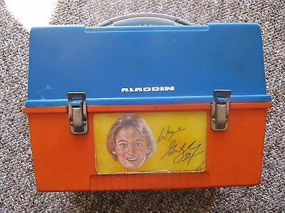1980's Wayne Gretzky Aladdin Lunch Box VARIATION!  EXTREMELY RARE!