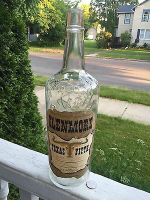 Rare 1/2 Gal.Labeled Whiskey Emb.Branding Iron Symbols Very Unusual