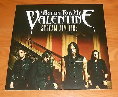Bullet for My Valentine Scream Aim Fire Poster 2-Sided Flat Square Promo 12x12