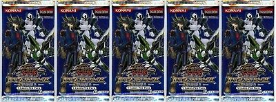 Number Hunters UNL  Edition New and Sealed YuGiOh Booster Packs x10 YuGiOh