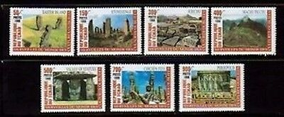 Chad 832-8 Mint NH Wonders of the World