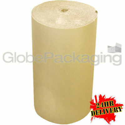 400mm x 75m Metre Brown Corrugated Cardboard Paper Roll Protection Parcel
