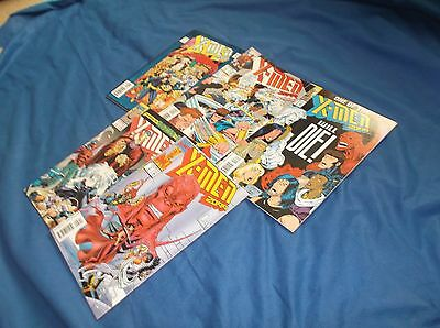 "Lot of 5 Different Marvel ""X-Men 2099"" Comic Books Issues 1-5"