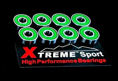 627 RS ABEC -11 [7mm] Xtreme HIGH PERFORMANCE SKATE BEARINGS CHROME OR STAINLESS