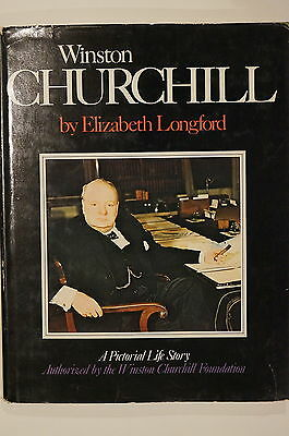 WW2 British Winston Churchill Pictorial Foundation Authorized Reference Book
