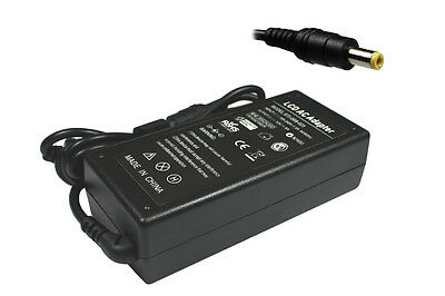 Power4Laptops 12V 5A Compatible Monitor Power Supply AC Adapter