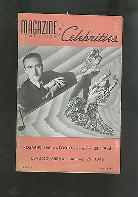 1945-46 Los Angeles Classical Music Magazine