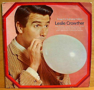 Songs For Swinging Children Leslie Crowther 1968 LP