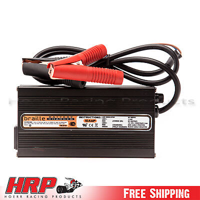 Braille Battery 10 Amp Hour 12V Battery Charger 12310
