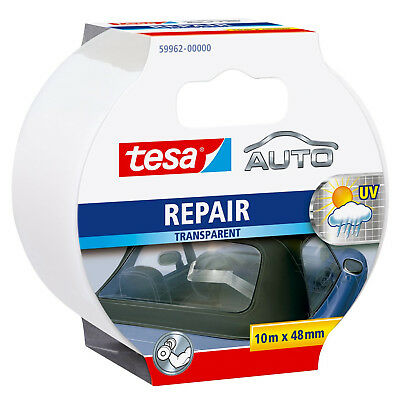 tesa  Auto Repair Band/ transparent/ 10m x 48mm/ 59962-00000/ starker halt/ wett