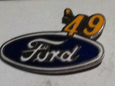 1  new  1949  FORD lapel pin medium  size pin with backing plate