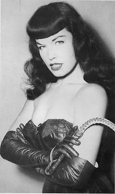 Bettie Page Vintage Pinup EXTRA LARGE CANVAS PRINT A1 Black & White photo C