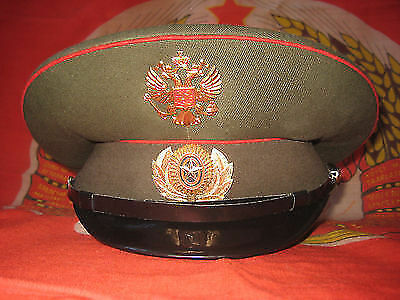 Russian Army Officer Visor Cap