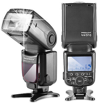MK910 i-TTL 1/8000s HSS Speedlite Master/Slave Flash for Nikon UD#15