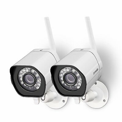 Funlux 2 1280*720p HD IP Network Wireless Outdoor Home Security Camera System