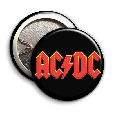 AC/DC - ACDC - Button Badge / Pinback - 25mm 1 inch - Parody Style