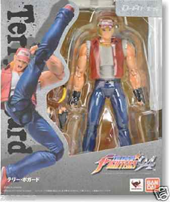 New Bandai D-Arts The King of Fighters Terry Bogard Pre-Painted