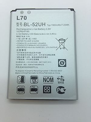 Lot Of 25 New Battery For Lg L70 Optimus Exceed 2 Realm Pulse Vs450  Ls620