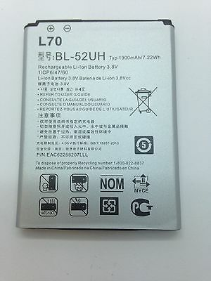 Lot Of 2 New Battery For Lg L70 Optimus Exceed 2 Realm Pulse Vs450  Ls620