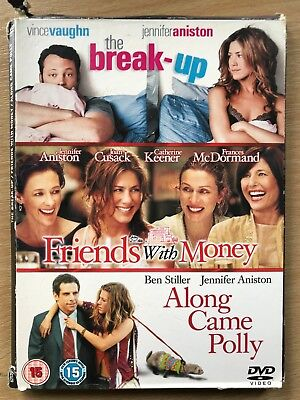 Jennifer Aniston Break Up/Friends con soldi / Along came polly ~ UK DVD
