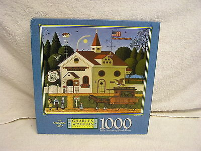 NEW Factory Sealed-1000 Piece Charles Wysocki  Americana Collection  Puzzle 2000