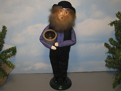 Byers Choice 1999 Exclusive Amish Man with Crock Signed
