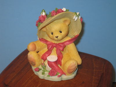 "Cherished Teddies Avon Janet ""You're Sweet as a Rose"""