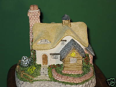 David Winter Cottages Buttercup Signed MIB COA