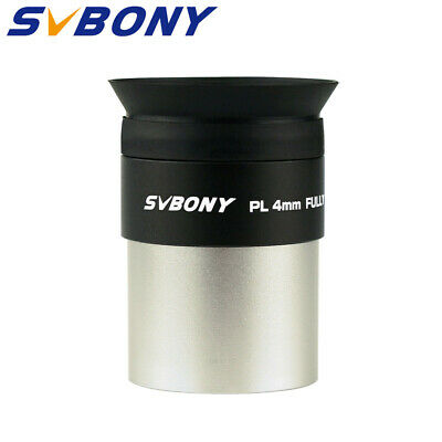 1.25''/31.7mm 4mm Plossl Eyepiece Lens Fully Multicoated for Telescope US Ship