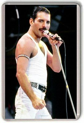 Freddie Mercury Queen Fridge Magnet 01