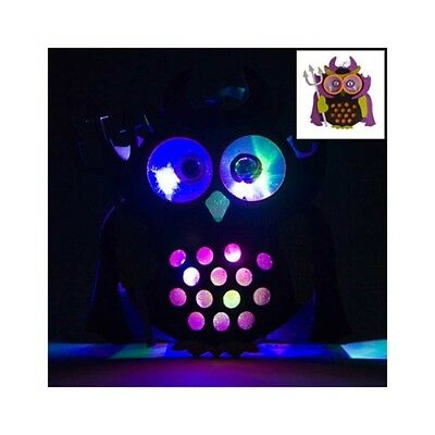 LED Devil Owl Neon Light Night Decoration Decor Room Bedroom Home Table Lamp