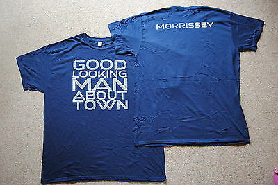 Morrissey Good Looking Man About Town T Shirt New Official The Smiths Rare